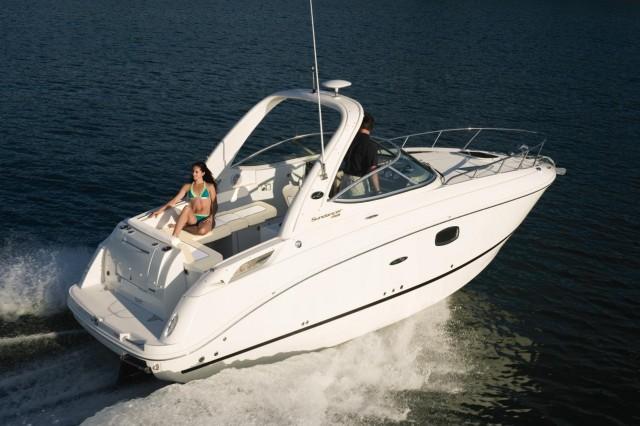 Sea Ray Sundancer Interior Sea Ray Sundancer 260 Cruising