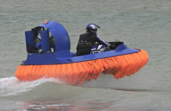 flying fish hovercraft