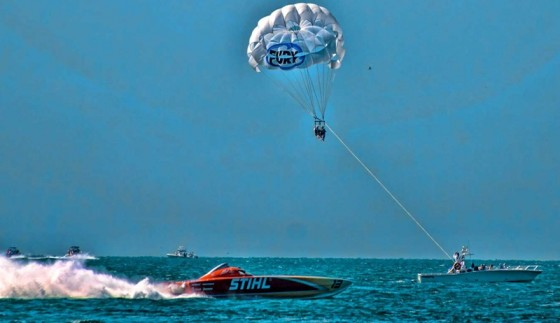 Despite the fact that Key West has a long a tradition of hosting the annual Super Boat International World Championships, the event may be gone from the city in the near future. Photos by Jay Nichols/Naples Image.