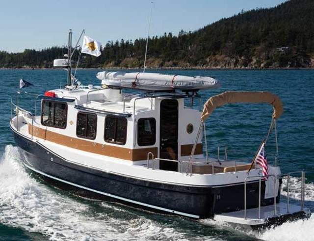 Ranger Tugs R 27 A Mini Trawler That Maximizes Space Boat Reviews