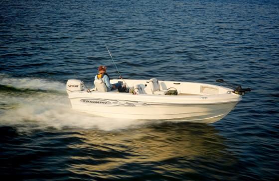triumph boat
