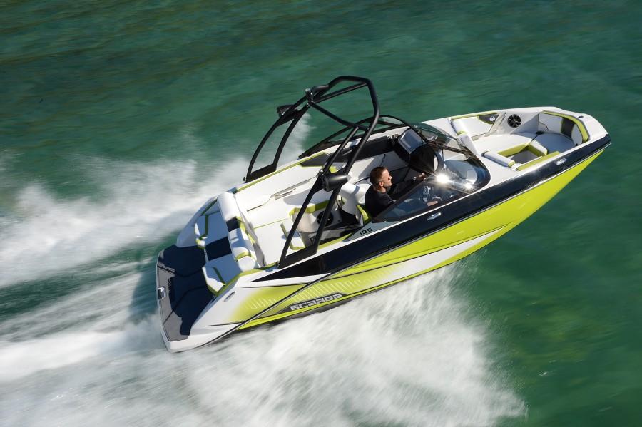 2018 Yamaha Jet Boats >> Scarab 195 HO Impulse: Join the Jet-Set - boats.com