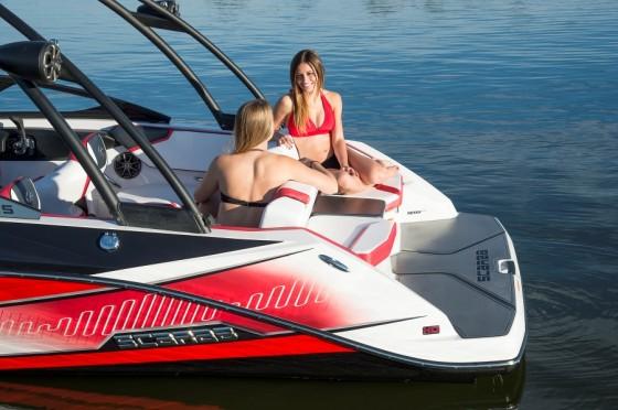 scarab jet boat seats