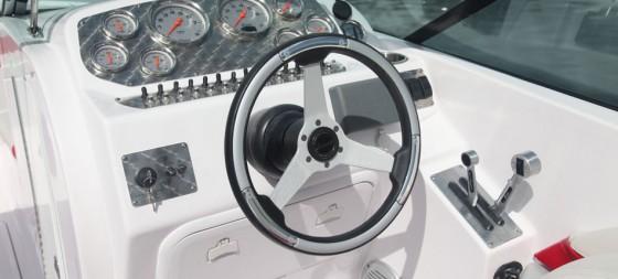 Baja 247 Islander helm