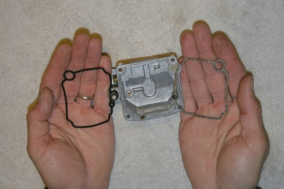 rebuild a carburetor