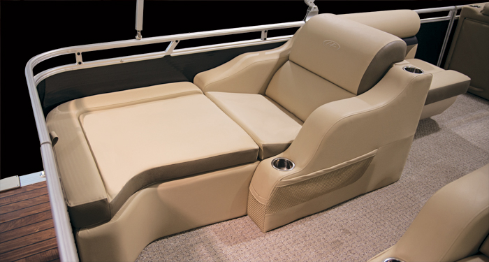 Pontoon Boat Seats For Sale >> Harris Flotebote Sunliner 240 Not Your Grandfather S Pontoon Boat