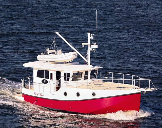 Great Harbour N37: A Trawler for Two - boats com