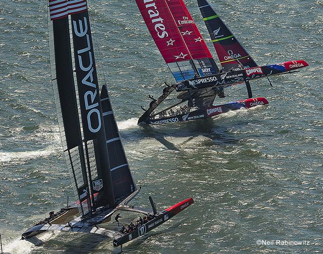 America's Cup 2013 capsize Neil Rabinowitz