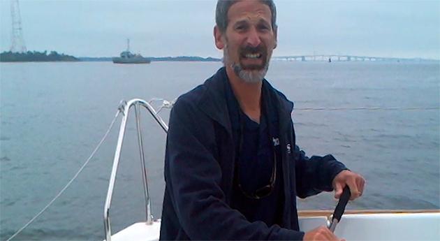 Lenny sailing