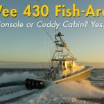 SeaVee 430 Fish-Around: Center Console or Cuddy Cabin? Yes.