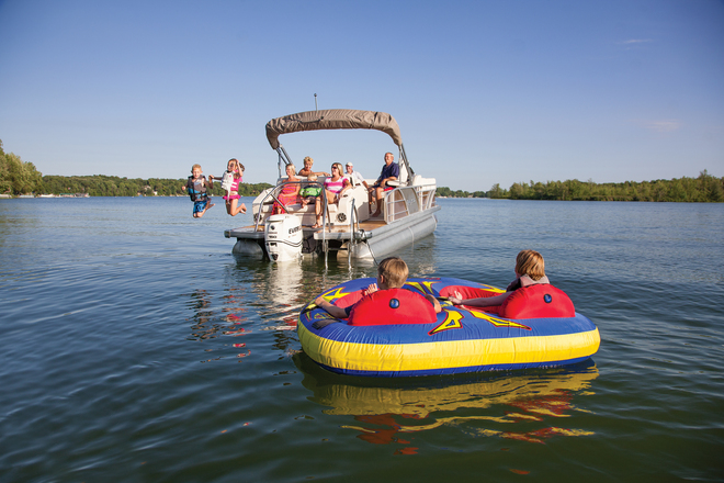 AquaPatio pontoon boats
