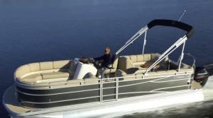 Cypress Cay Cabana 220 pontoon boat