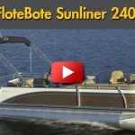 Harris FloteBote Sunliner 240: Video Pontoon Boat Review
