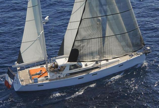 Amel 64 sailboat