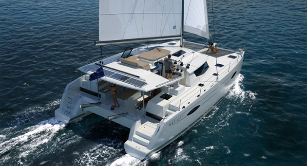 helia catamaran