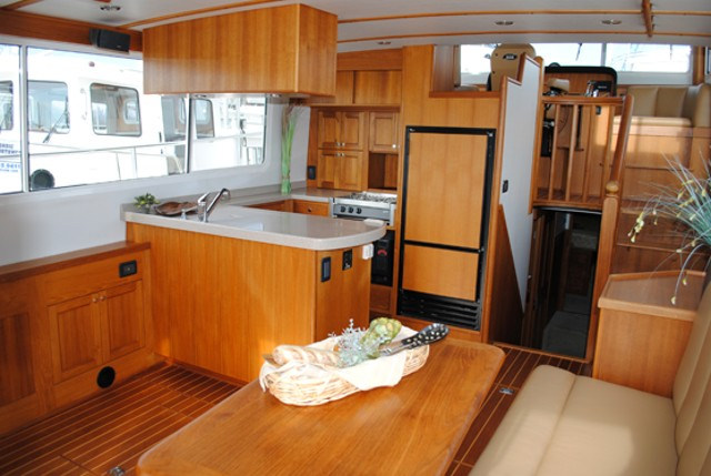 Nordic Tug 42 interior
