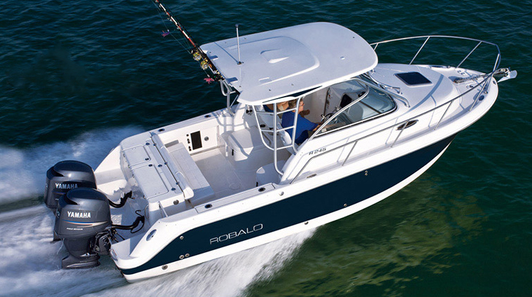 The number-one feature of the Robalo R245 is it's over-built ...