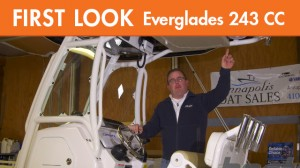 Everglades 243 center console first look video