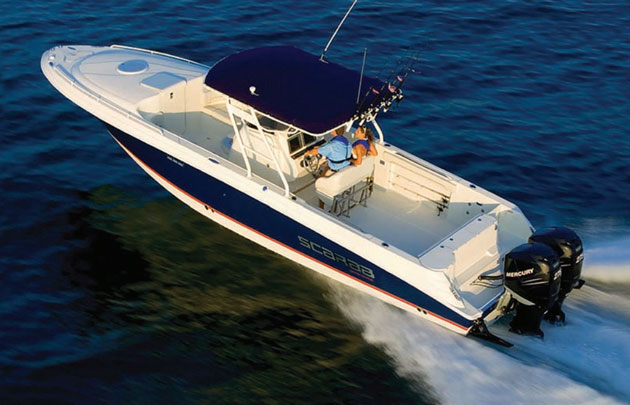Wellcraft 35 scarab review fast fishing fun for How much does a fishing boat cost