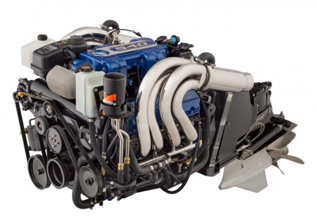 The 540 engine is replacing Mercury Racing's venerable 525 EFI powerplant.