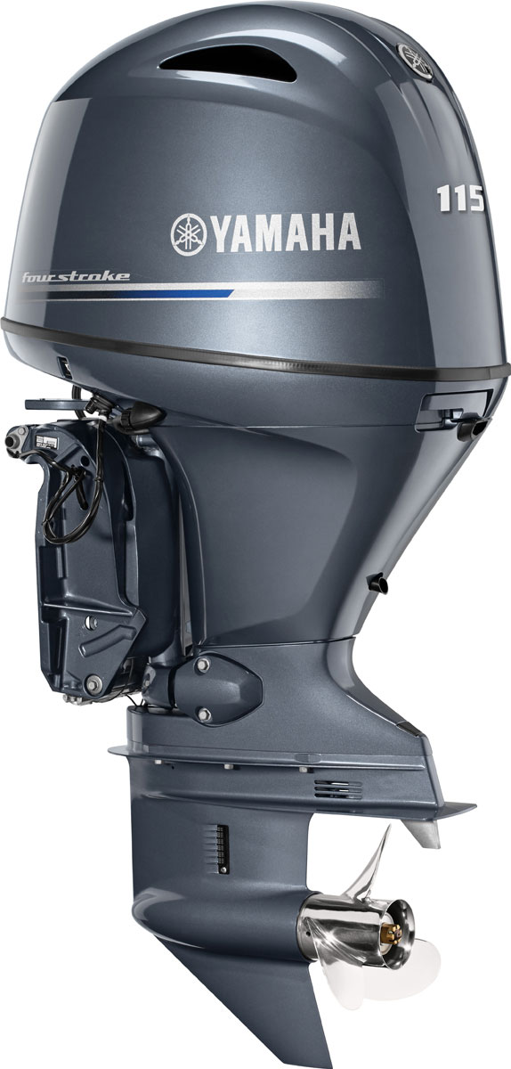 Yamaha 115 Outboard Motor : The outboard expert yamaha reveals second generation f