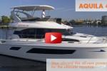 Aquila 44 video boat review power catamaran vacation boat