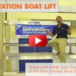 2014 ShoreStation Hydraulic Boat Lift: First Look Video