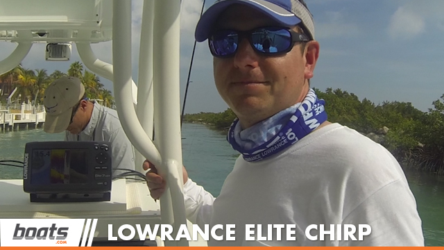 2014 Lowrance Elite 7 CHIRP: First Look Video - boats com