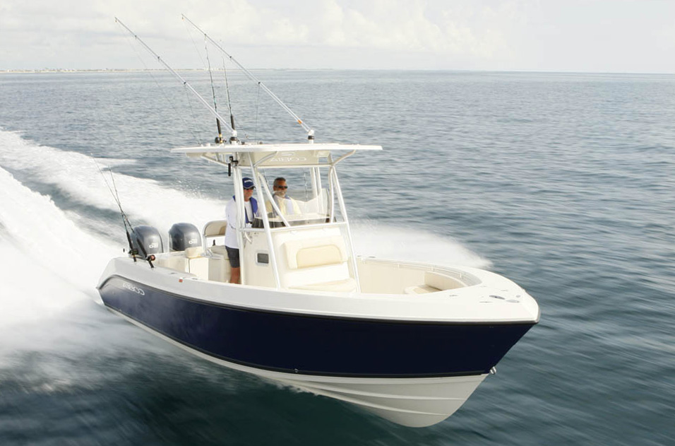 Cobia 256cc telling features make for a great fishing for Best boat for fishing and family fun