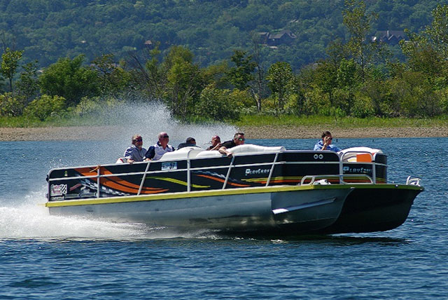 5 Rocket Fast Pontoon Boats