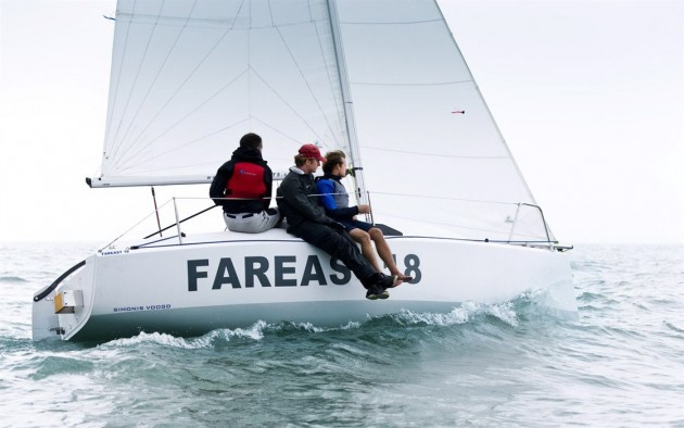 The German boats.com team liked the Fareast 18's performance, accommodations, and build quality.
