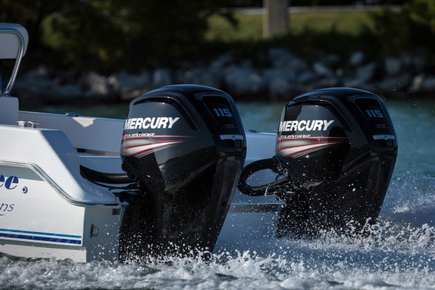 Mercury debuts all new 75 hp 90 hp and 115 hp fourstroke for Mercury 90 hp outboard motor