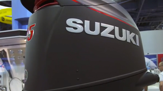 Suzuki 115 SS Outboard: First Look Video - boats.com