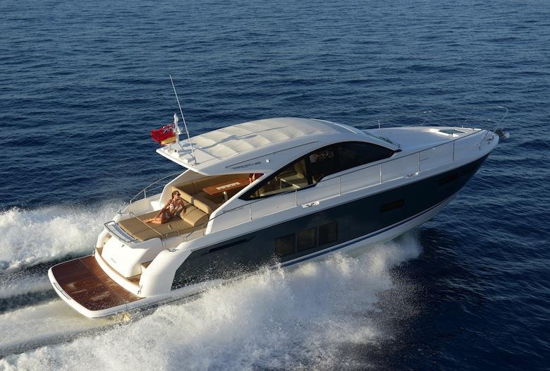 Fairline 48 Targa Open Contemporary Cool Boats Com