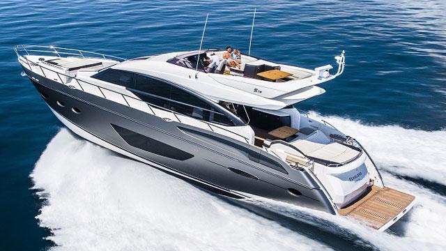 Princess S72 Enjoy Highlife Hybrid Cruiser