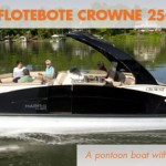 Harris FloteBote Crowne 250: Luxury, Redefined