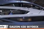 Galeon 430 skydeck powerboat