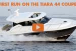 Tiara 44 first run powerboat coupe