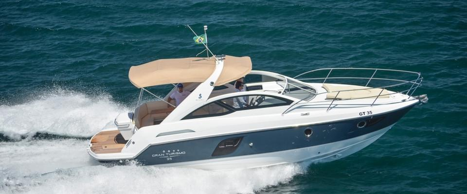 Beneteau gran turismo 35 express yourself boats lay the hammer down and the gran turismo 35 can accelerate past 40 mph sciox Gallery