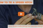 How to tie a spider hitch video