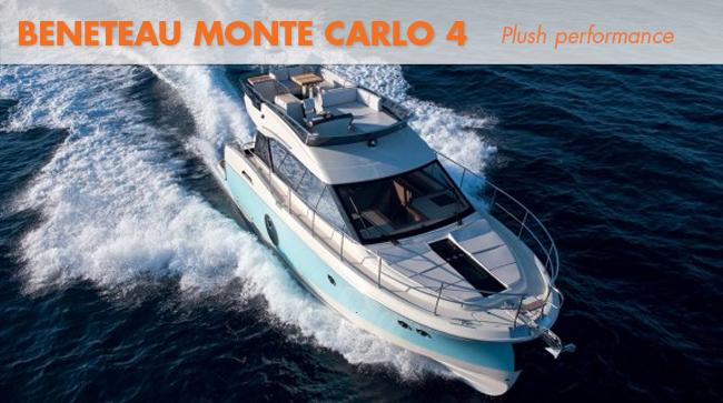 Beneteau monte carlo 4 running