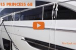 Princess 68 motoryacht first look video