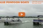 3 value pontoon boats running
