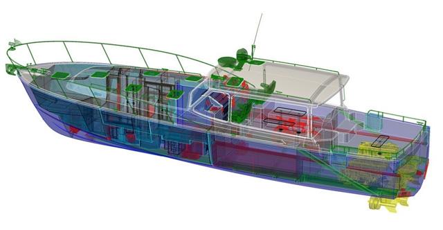 MJM 50z Lobster Yacht With Luxury
