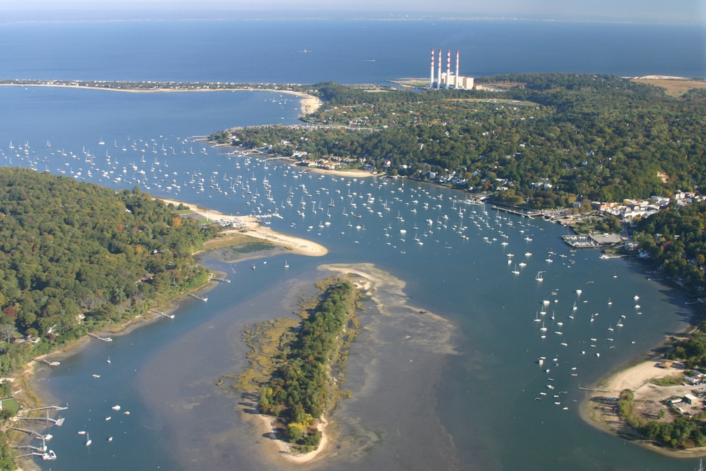 How to find a good anchorage for Long island sound fishing spots