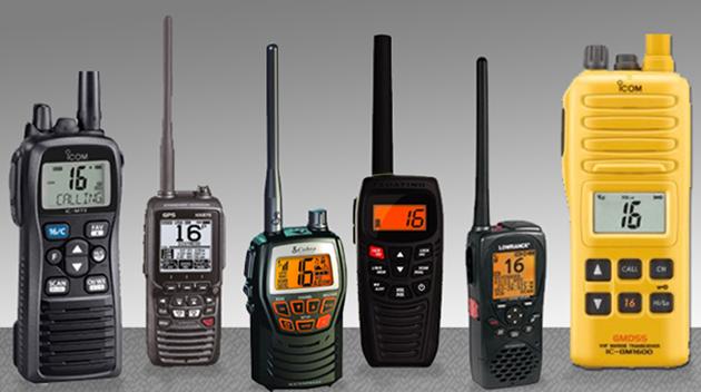 Five Favorite Handheld VHF Radios - boats.com