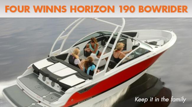 Four Winns horizon 190 running