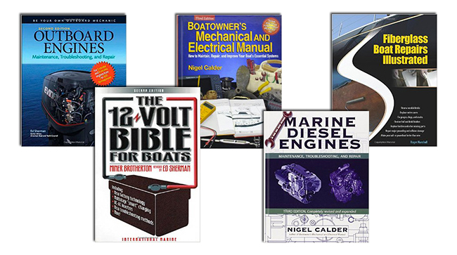 Five Books for the Do-It-Yourself Boat Owner - boats com