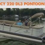 Regency 220 DL3 Pontoon Boat: Video Boat Review