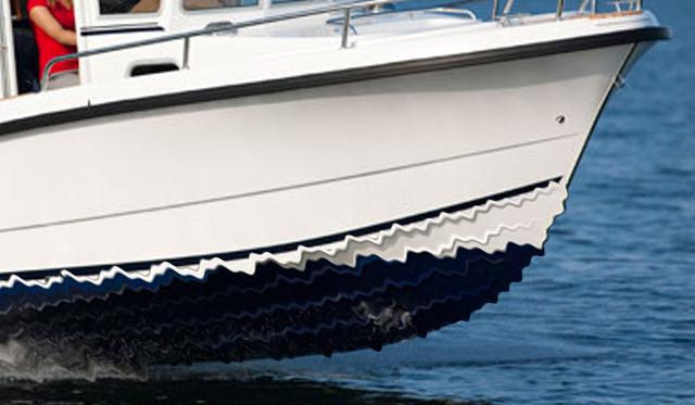 Boat Construction Materials : Fiberrubber new boat building material proves